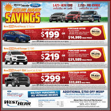 100 West Herr Used Trucks Weekly Democrat Chronicle Newspaper Ad Ford Of Rochester