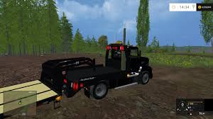 MACK TRUCK SINGLE AXLE FLATBED TRAILER V 1.0 - Farming Simulator ...