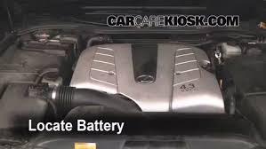 battery replacement 2002 2009 lexus sc430 2002 lexus sc430 4 3l v8