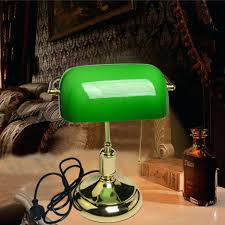 Bankers Lamp Green Glass Shade by Articles With Green Glass Shade Desk Lamp Tag Terrific Green