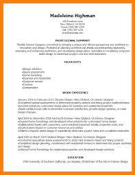 12 interior design resume sample