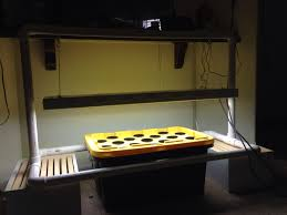 My hydroponic setup 27 gallon tote lowes 30 60 gallon quit air
