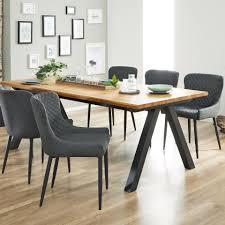 polsterstuhl lunderskov grau küchentisch und stühle