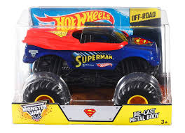 100 Monster Jam Toy Truck Videos Amazoncom Hot Wheels Superman DieCast Vehicle 124