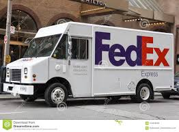 100 Fedex Truck FedEx In The City Of Toronto Editorial Image Image Of Mail