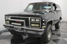 1990 GMC Jimmy | Streetside Classics - The Nation's Trusted Classic ... 67 72 Gmc Jimmy 4wd Nostalgic Commercial Ads Pinterest Gm 1976 High Sierra Live Learn Laugh At Yourself Gmc Truck 1995 Favorite Image 5 Autostrach 1985 Transmission Swap Bm 700r4 Truckin 1955 100 The Rat Hot Rod Network Car Brochures 1983 Chevrolet And 1999 Lifted 4x4 Solid Axle Offroad Crawler Trail Mud 1991 Sle Id 12877 Jimmy Bos0007a Aa Cater 1969 K5 Blazer Jacked Up Youtube 1987 Overview Cargurus