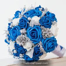 Blue And Silver Wedding Best 25 Weddings Ideas On Pinterest Cobalt