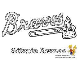 Download Coloring Pages Mlb Grand Baseball Pictures Nl Free