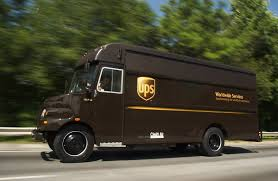 55 Ups Box Truck, Vintage UPS Truck With Original Box United Parcel ...