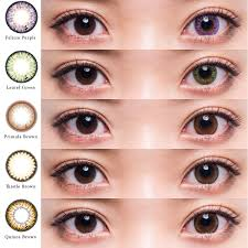 Contact Lens Shop LOOOK Flower Eyes 1day Crochet 1 Box 8 Pcs