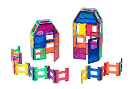 Magna Tiles Clear Colors 32 Pc Set by Amazon Com Playmags 48 Piece Set Now With Stronger Magnets