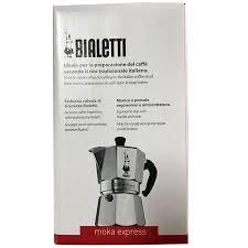 Authentic Italian Native BIALETTI Than Ledi Classic MOKA Octagonal Pot Moka Coffee