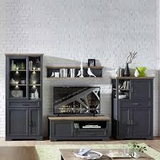 landhaus design wohnwand valgura
