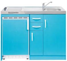 miniküche mit kühlschrank und schubladen 120 cm breit