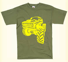 100 Monster Truck T Shirts CAMISEA PARA HOMBRE MONSER RUCK HUGE BIG WHEELS FUNNY SHIR