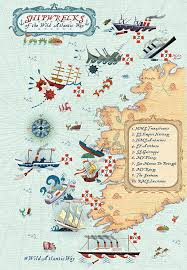 Where Did The Lusitania Sink Map by Famous Shipwrecks From History Wild Atlantic Way