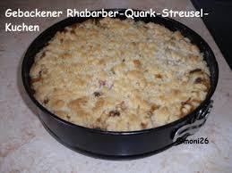 rhabarber quark streusel kuchen