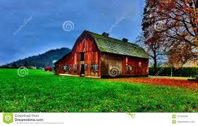 100 Stock Farm Montana Old Red Barn Stock Photo Image Of Wood Montana Landscape