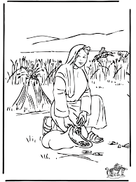 Full Image For Ruth And Naomi Bible Coloring Pages Boaz