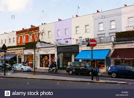 100 Westbourn Grove Brightly Coloured Buildings E Notting Hill London