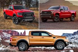 How The Ram 1500, Ford Ranger, And Chevrolet Silverado Compare In 5 ... American Trucks History First Pickup Truck In America Cj Pony Parts Best Pickup Trucks To Buy 2018 Carbuyer Why Wed Pick A Ram Rebel Over Ford Raptor I Love The Truck Have A Brand New 2015 But Doesnt Compare 2016 Chevy Silverado 53l V8 Vs Gmc Sierra 62l Mega New Chevrolet F150 Competion Reviews Consumer Reports Losi 15 Monster Truck Xl 4wd Size Comparison 5t Dbxl Baja Yeti 1500 Big Three