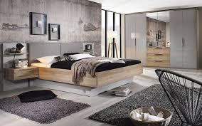 schlafzimmer 4037 in seidengrau sanremo eiche hell nachbildung mit bettschubkasten