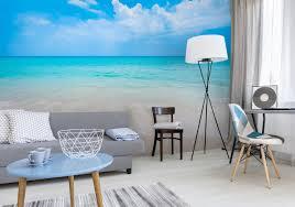 fototapete meer und strand im wohnzimmer exklusiv münchen