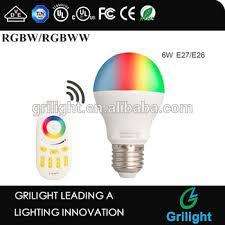 6w led bulbs g4 led 12v 6w e27 e26 socket rgbw led zigbee light