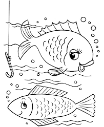 Fish Printable Coloring Pages Fishes