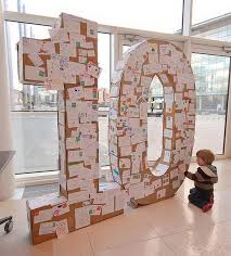 Best 25 cardboard letters ideas on Pinterest