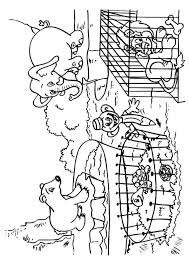 Zoo Coloring Pages Free Printable