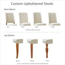 Side Chair - Fabric Or Leather | Custom Upholstered Chairs
