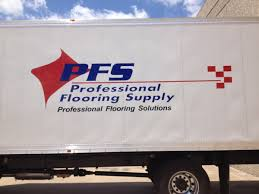Flooring Supply pany Adds Vinyl Lettering to Fleet Trailers to