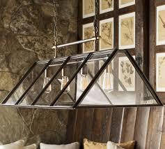 greenhouse indoor outdoor chandelier pottery barn