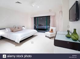 master schlafzimmer luxus villa stockfotografie alamy