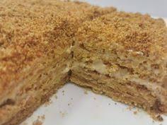 köstlicher honigkuchen mit milchmädchen creme einfach und