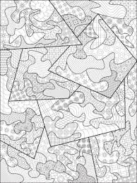 Click To See Printable Version Of Abstract Zentangle Coloring Page