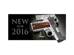 Kimber Introduces New Products for 2016