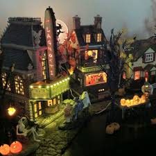Dept 56 Halloween Village by 111 Best Halloween Dept 56 And Lemax Villages Images On