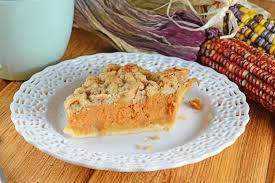 Pumpkin Pie With Pecan Streusel Topping by Pumpkin Cheesecake And Salty Pumpkin Seeds Recipe