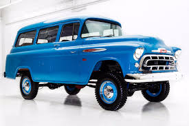 1957 Chevrolet Suburban Napco 4 Wheel Drive V8 American Dream