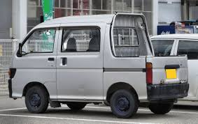 100 Hijet Mini Truck Daihatsu 4wd Van 4 Door 4WD With Canopy Low Miles