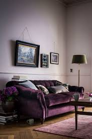 Grey And Purple Living Room Wallpaper by Brown And Plum Living Room Purple Sofa What Colour Walls Purple