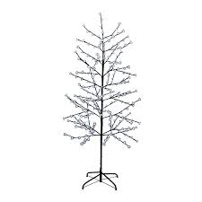 White Christmas Tree Pre Lit 6ft by Pre Lit Twig Christmas Tree Christmas Lights Decoration