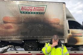 100 Police Truck Tab Kentucky Officers Hilariously Mourn Krispy Kreme