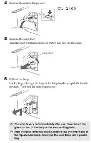 Sony Xl 2400 Replacement Lamp Instructions by 4 Sony Kdf E50a10 Lamp Door Sony Xl2400 Tv Lamp Replacement