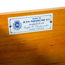John Widdicomb Dresser Mirror by 49 Off John Widdicomb Co John Widdicomb Co Brown Six Drawer