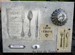 toile deco cuisine côté cuisine ooo au gré du temps ooo