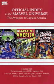 Avengers Thor Captain America Official Index To The Marvel Universe Volume