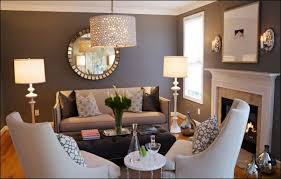 design ideas stylish living room with grey wall white ceiling